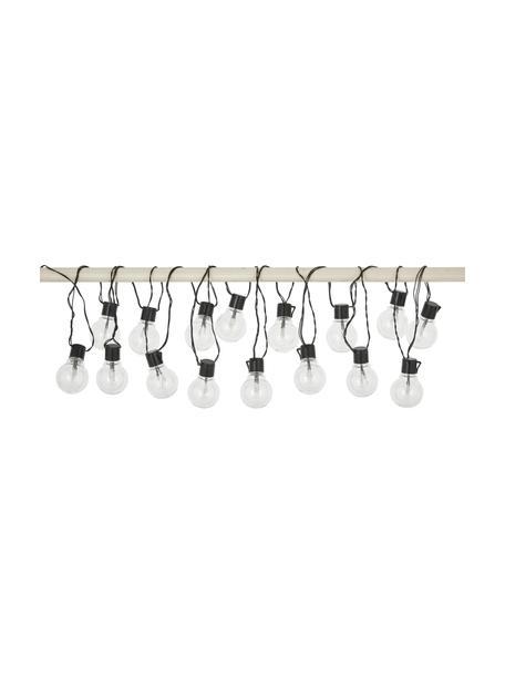 Guirnalda de luces LED Partaj, 950cm, Casquillo: plástico, Cable: plástico, Negro, L 500 cm