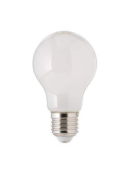 E27 Leuchtmittel, 4W, warmweiß, 5 Stück, Leuchtmittelschirm: Opalglas, Leuchtmittelfassung: Aluminium, Weiß, Ø 8 x H 10 cm