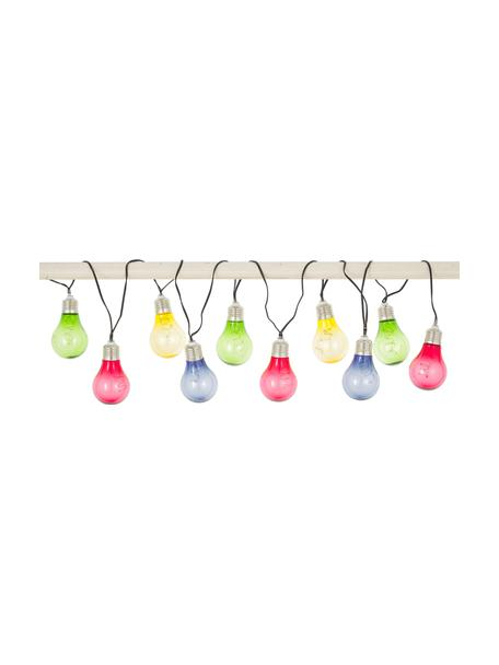 Solar Lichterkette Glow, 150 cm, 10 Lampions, Lampions: Kunststoff, Merhfarbig, L 150 cm