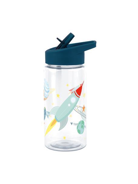 Trinkflasche Space, Kunststoff, Dunkelblau, 450 ml