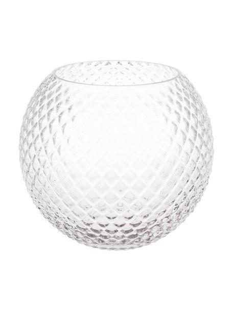 Vaso in vetro Ilse, Vetro, Trasparente, Ø 23 x Alt. 19 cm