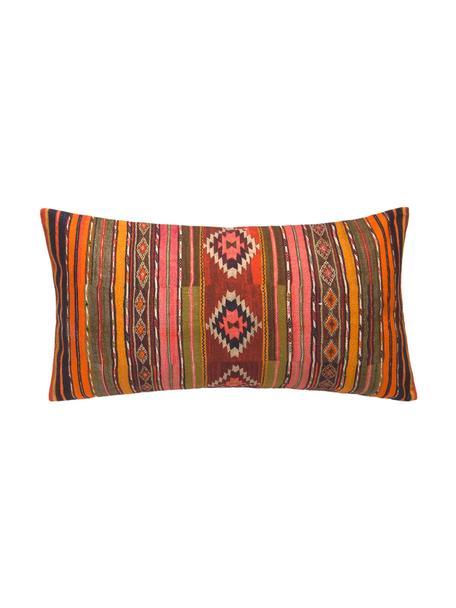 Federa arredo con fantasia etnica Kusa, 100% cotone, Multicolore, Larg. 30 x Lung. 60 cm