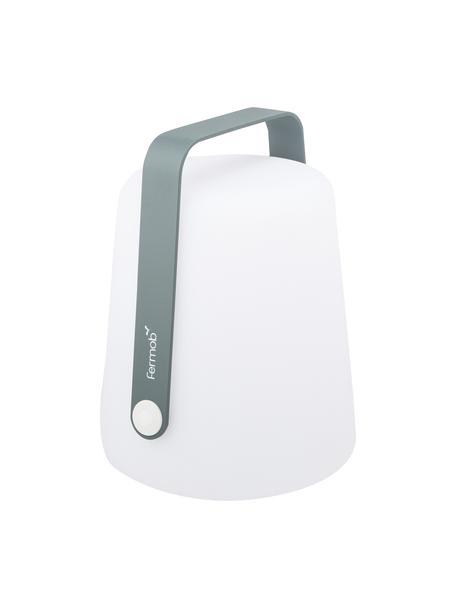 Lámpara para exterior regulable Balad, portátil, Lámpara: polietileno tratado para , Asa: aluminio pintado, Gris, Ø 19 x Al 25 cm