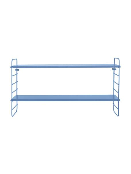 Estante de pared Kimi, Estantería: tablero de fibras de dens, Azul, An 65 x Al 35 cm