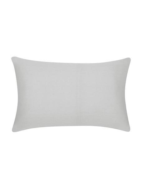 Poszewka na poduszkę z bawełny Mads, 100% bawełna, Jasny szary, S 30 x D 50 cm