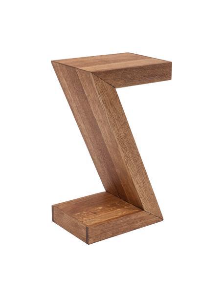 Mesa auxiliar de madera Attento, Madera de roble, maciza, aceitada, Roble, An 30 x F 20 cm