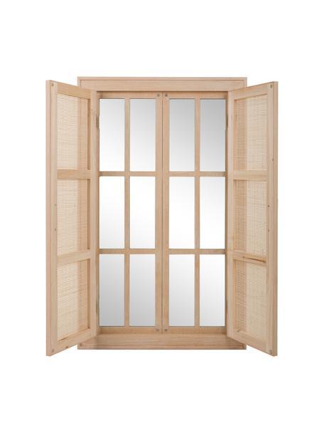 Espejo de pared Cayetana, Espejo: cristal, Beige, An 74 x Al 118 cm
