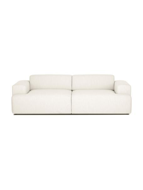 Sofa Melva (3-Sitzer) in Beige, Bezug: Polyester Der hochwertige, Gestell: Massives Kiefernholz, Spa, Webstoff Beige, B 240 x T 101 cm