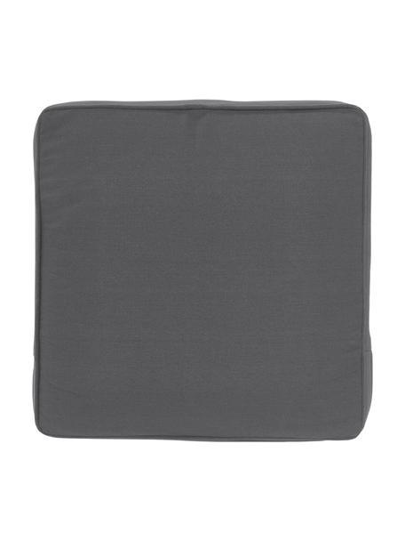 Sitzkissen Zoey in Dunkelgrau, Bezug: 100% Baumwolle, Grau, 40 x 40 cm