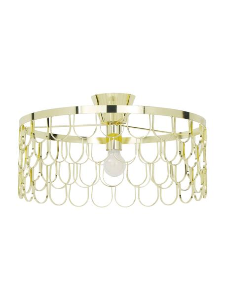 Design-Deckenleuchte Gatsby in Gold, Messing, Messing, Ø 50 x H 20 cm
