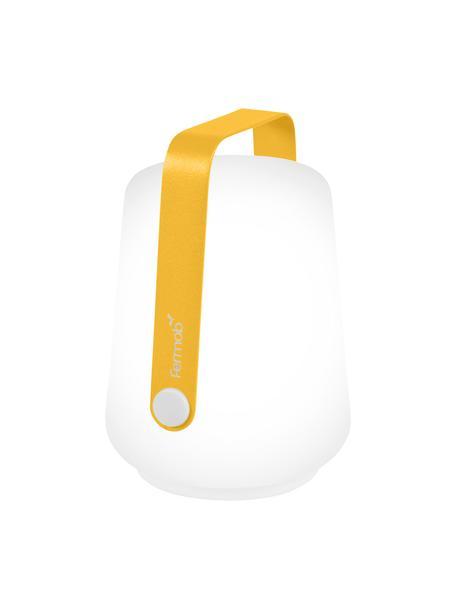 Lámparas LED para exterior Balad, portátiles, 3uds., Pantalla: polietileno, Asa: aluminio, pintado, Amarillo, Ø 10 x Al 13 cm
