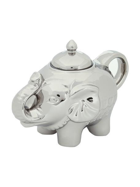 Zuccheriera Elephant, Vetro, Platino, L 15 x A 12 cm