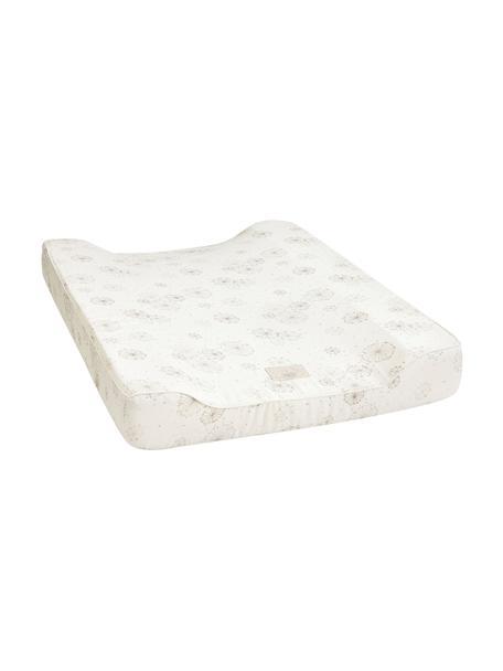 Colchón cambiador Dandelion, Exterior: 100% algodón ecológico, c, Crema, beige, An 50 x L 65 cm