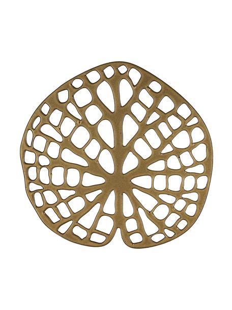 Posavasos de latón Orient, 6uds., Metal recubierto, Latón, An 12 x Al 1 cm