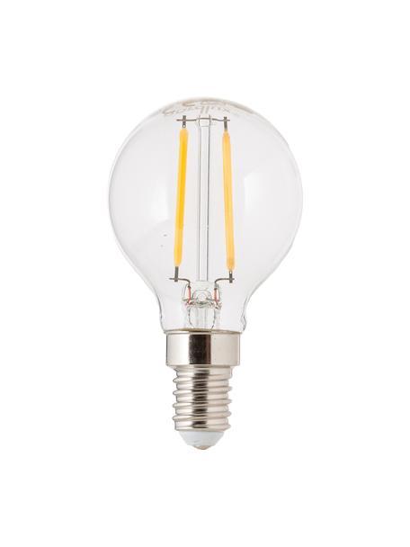 LED-peertje Yekon (E14/2.5W), Peertje: glas, Fitting: aluminium, Transparant, Ø 5 x H 8 cm
