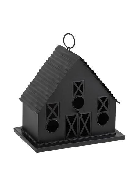 Karmnik dla ptaków Mome, Metal powlekany, Czarny, S 31 x W 28 cm