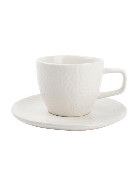 Filiżanka do espresso Mielo, 8 szt., Kamionka, Biały, Ø 12 x W 7 cm