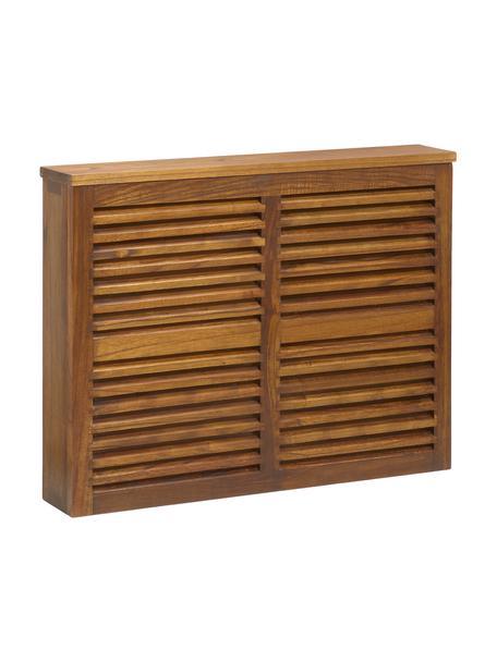 Tapa de madera para radiador Star, Madera de mindi, Marrón, An 100 x Al 75 cm