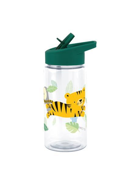 Trinkflasche Jungle Tiger, Kunststoff, Grün, 450 ml