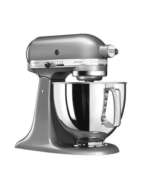 Küchenmaschine Artisan, Gehäuse: Zinkdruckguss., Schüssel: Edelstahl., Silbergrau, B 37 x T 24 cm