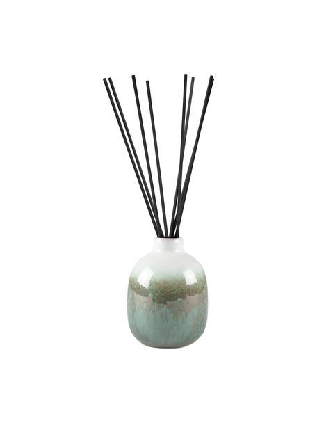 Diffuser Cactus Blossom, Behälter: Keramik, Grüntöne, Beige, Weiß, Ø 7 x H 10 cm