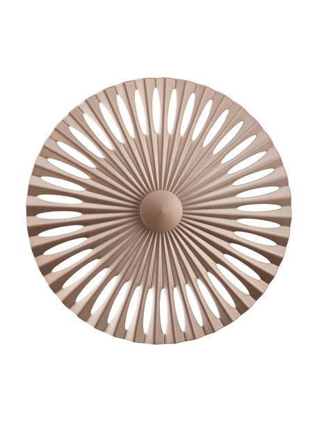 Design LED wandlamp Phinx, Diffuser: kunststof, Lichtbruin, Ø 32 cm