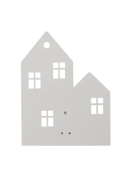 Aplique Town House, con enchufe, Metal con pintura en polvo, Blanco, An 24 x Al 35 cm