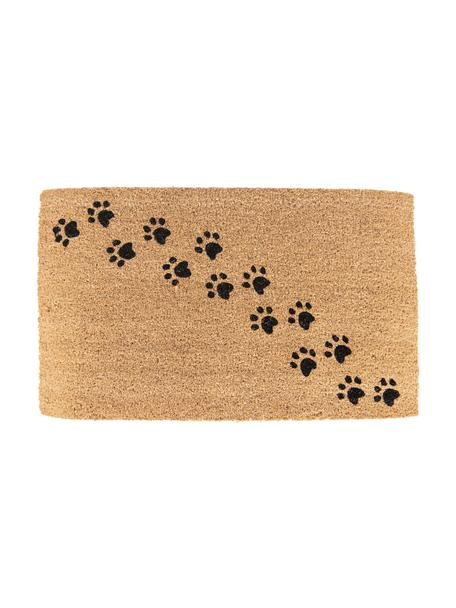 Zerbino Paws, Marrone, nero, Larg. 45 x Lung. 75 cm