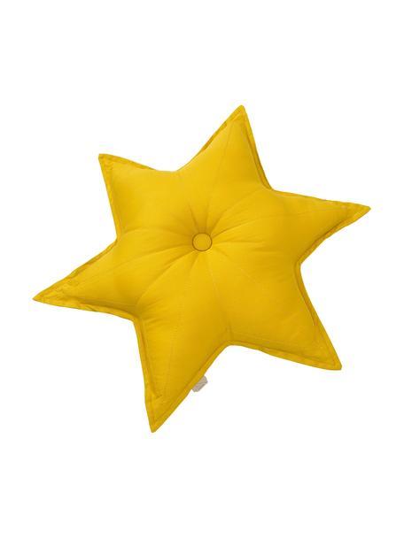 Kussen Star, met vulling, Mosterdgeel, 45 x 45 cm