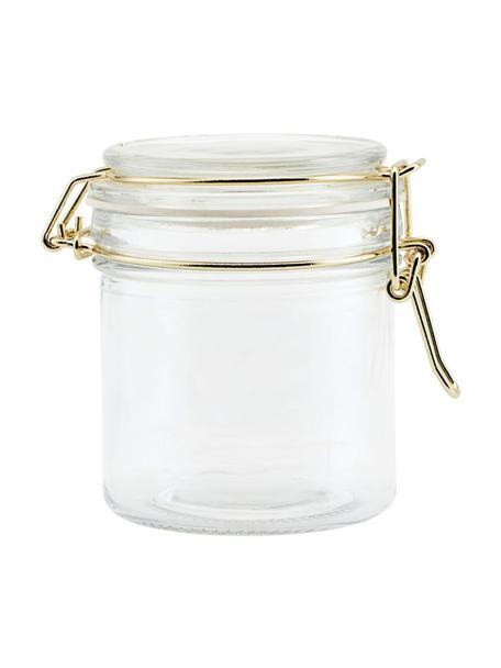 Bote hermético , Caja: vidrio, Bote hermético, Ø 8 x Al 10 cm
