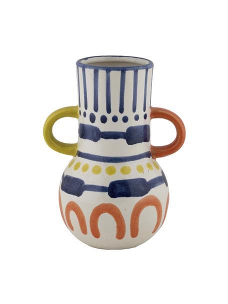 Vaso in ceramica dipinta Majorelle, Ceramica, Multicolore, Larg. 15 x Alt. 20 cm