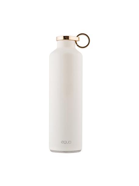 Isolierflasche Classy Thermo Snow White, Rostfreier Stahl, beschichtet, Weiss, Goldfarben, Ø 8 x H 26 cm