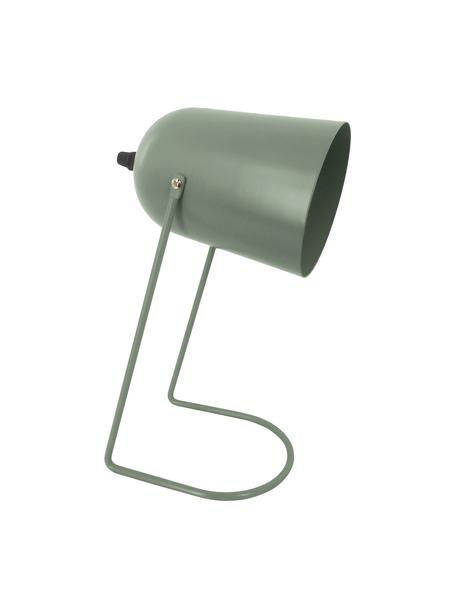 Lampada da comodino Enchant, Paralume: metallo rivestito, Base della lampada: metallo rivestito, Verde, Ø 18 x Alt. 30 cm