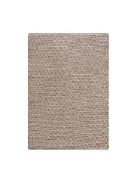 Ręcznie tkany dywan z wełny Uno, Taupe, S 120 x D 170 cm (Rozmiar S)