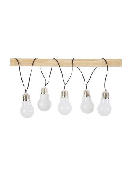 Guirnalda de luces LED Glow, 100cm, Blanco, L 100 cm
