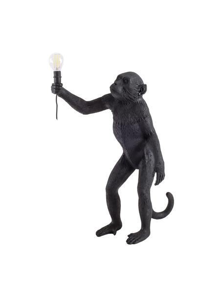 Outdoor LED tafellamp Monkey, Kunsthars, Zwart, 46 x 54 cm