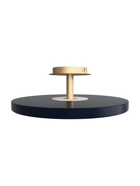 Design LED plafondlamp Asteria, Lampenkap: aluminium, gelakt, Antraciet, goudkleurig, Ø 60 x H 21 cm