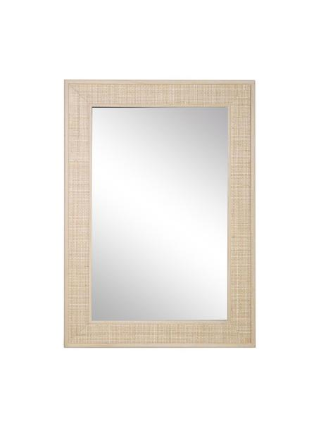 Espejo de pared Daniel, Espejo: cristal, Beige, An 70 x Al 100 cm