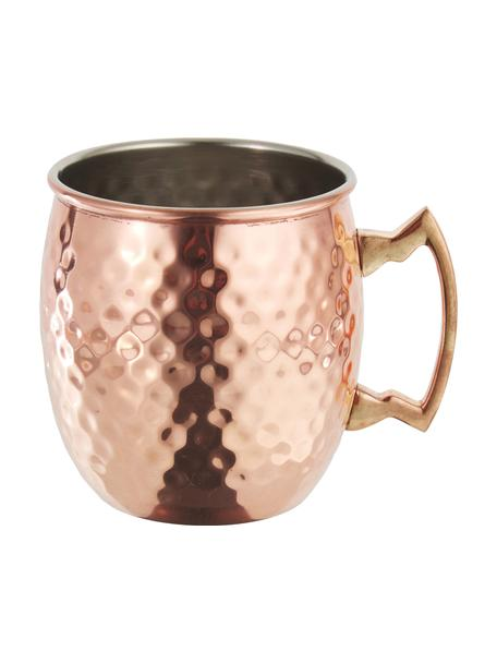 Taza de cobre Moscow Mule Hammered, Cobre, Cobre, Ø 9 x Al 10 cm