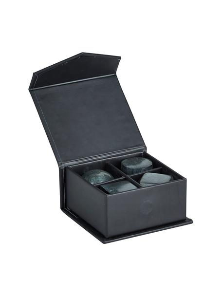 Set pietre whisky Sola 4 pz, Pietra, Verde, grigio scuro, Ø 3 x Alt. 3 cm