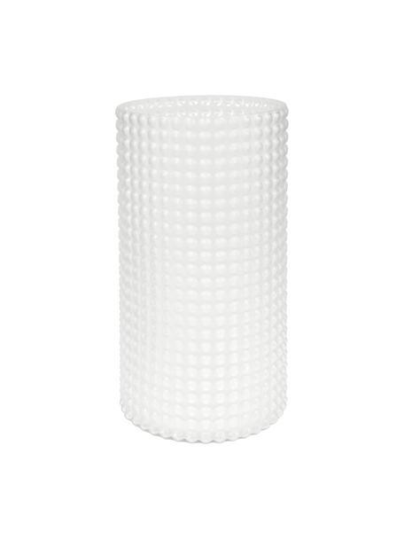 Große Glas-Vase Flora, Glas, Transparent, Ø 16 x H 30 cm