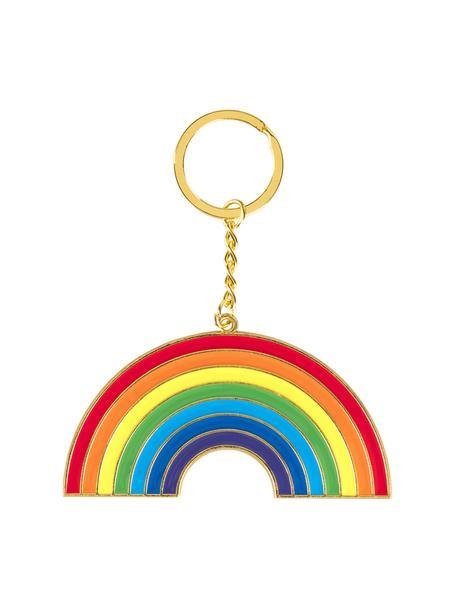 Schlüsselanhänger Rainbow, Stahl, beschichtet, Mehrfarbig, 7 x 15 cm