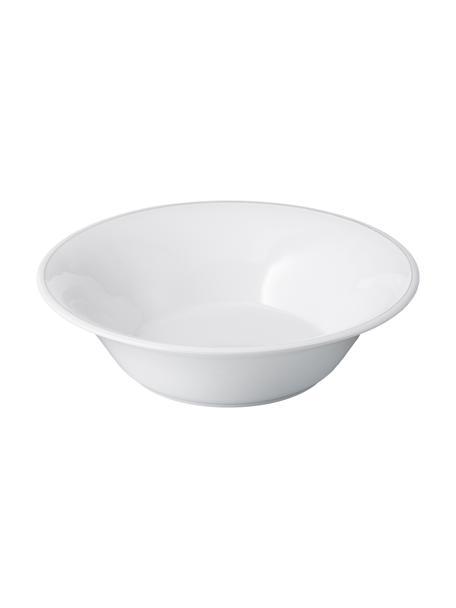 Misa do sałatek Constance, Kamionka, Biały, Ø 30 x W 9 cm