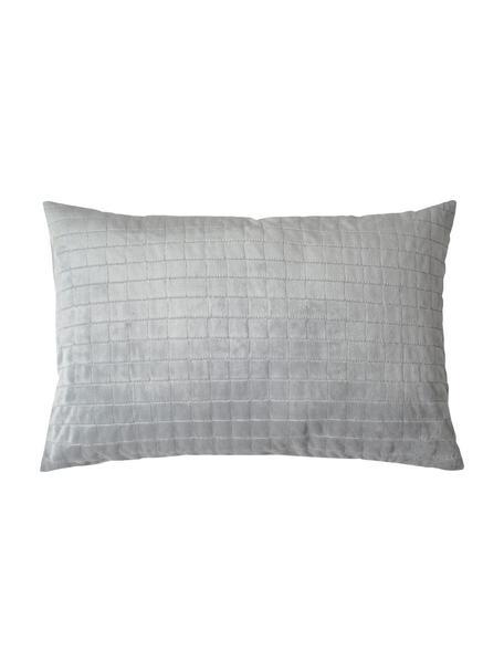 Therapie-Kopfkissen Gravity mit Zirbenholz-Füllung, Bezug: 100% Baumwolle, Grau, 40 x 80 cm