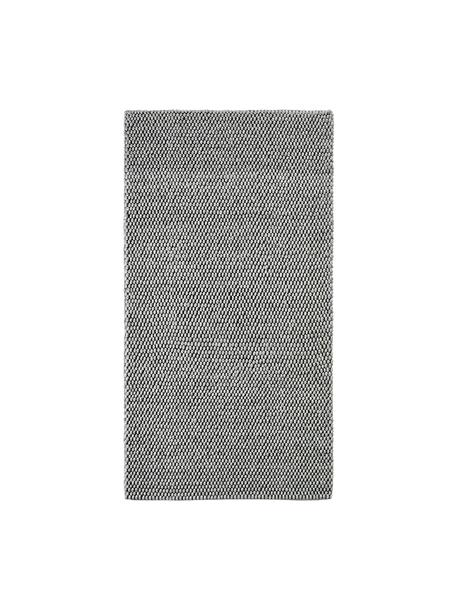 Ręcznie szyty dywan z wełny My Loft, Srebrnoszary, S 80 x D 150 cm (Rozmiar XS)