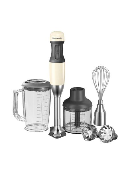Set frullatore a immersione KitchenAid, 14 pz., Color crema, P 6 x A 40 cm