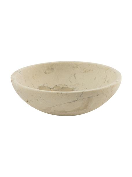 Marmor-Seifenschale Luxor, Marmor, Beige, Ø 12 x H 4 cm