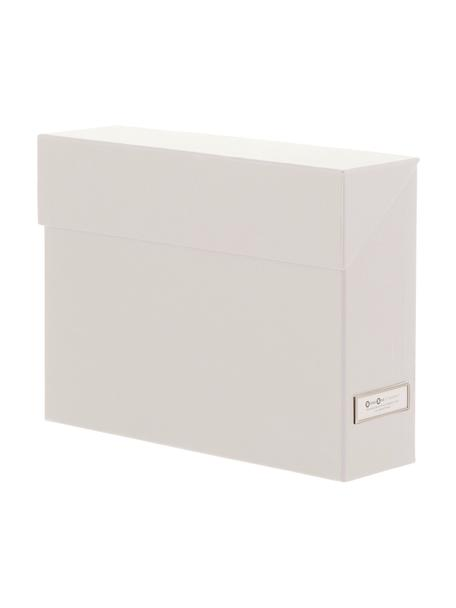Dossierorganizer Lovisa, 13-delig, Organizer: massief, gelamineerd kart, Wit, 33 x 24 cm