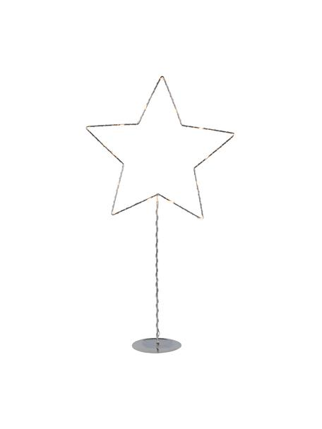 Dekoracja świetlna LED na baterie Sparkling, Odcienie srebrnego, S 31 x W 60 cm