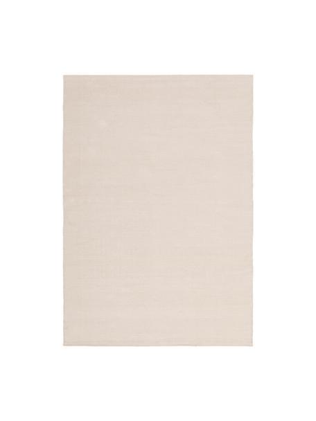 Dünner Baumwollteppich Agneta, handgewebt, 100% Baumwolle, Beige, B 50 x L 80 cm (Größe XXS)